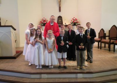 Group with Father Krempa